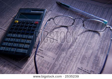 Analysing The Financial Pages