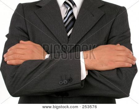 Businessman With His Arms Crossed