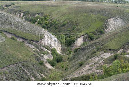Chalk canyon