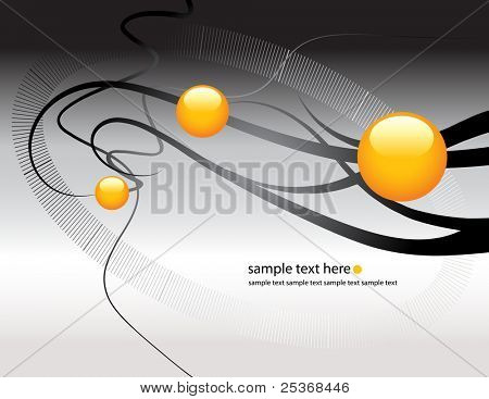 vector abstract technology background.  Connection, research, medicine and science concept.
