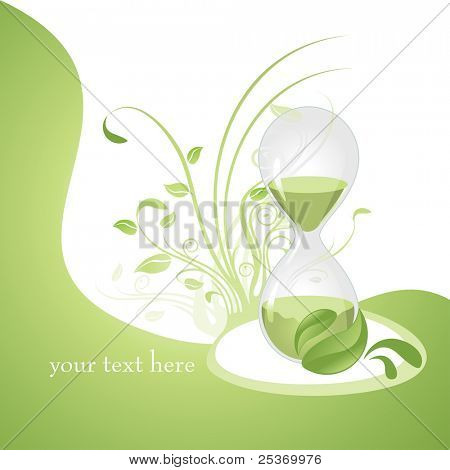 anti aging concept vector illustration, related with alternative medicines health and wellness on natural way