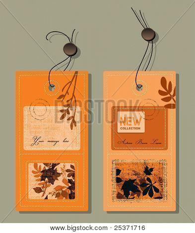 fall season collection etiquette, autumn leaves