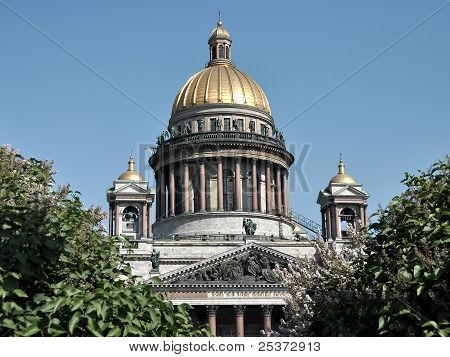 Domes of St. Isaac Cathedral