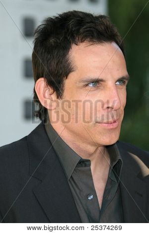 LOS ANGELES - JUNE 25: Ben Stiller at the premiere of 'License To Wed' at the Cinerama Dome in Hollywood on June 25, 2007 in Los Angeles, California
