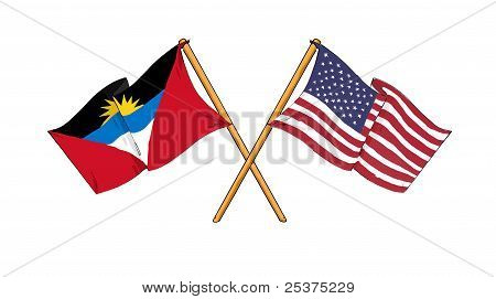American And Antiguan Alliance And Friendship