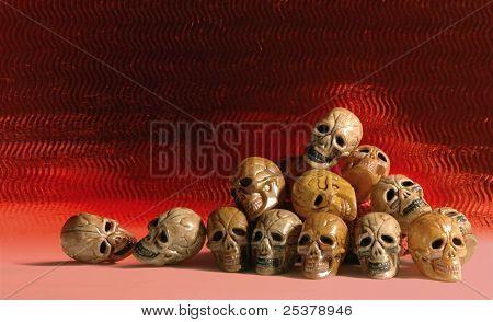 Heap of skulls