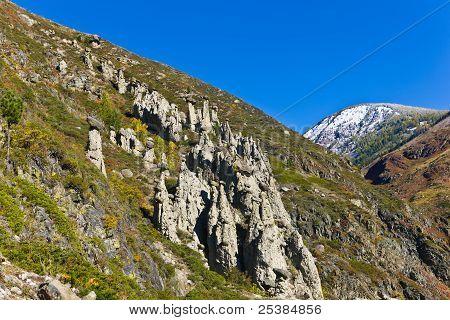 Rocks On A Slope