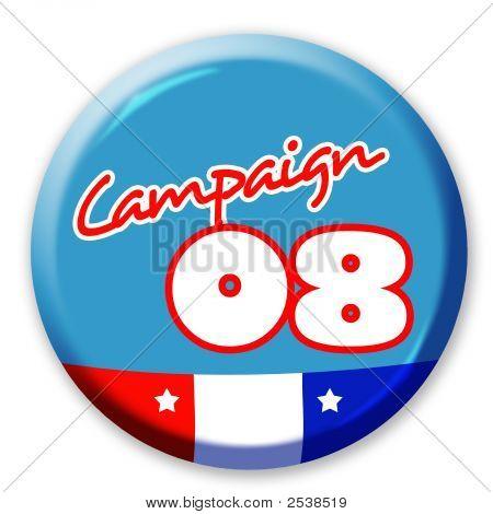 Botão de campanha 08