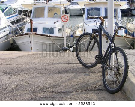 Bicycle Dreaming Of Sea Trip