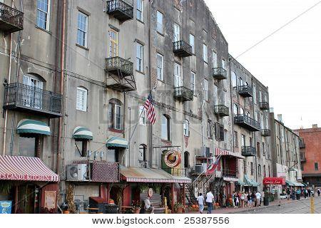 Savannah street scene