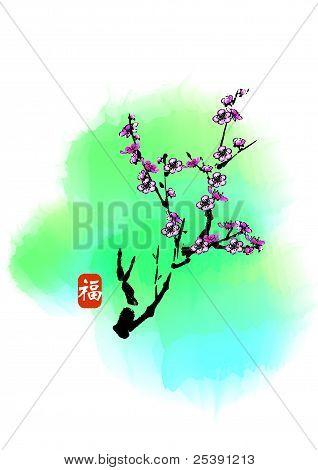 Cny Plum Flower