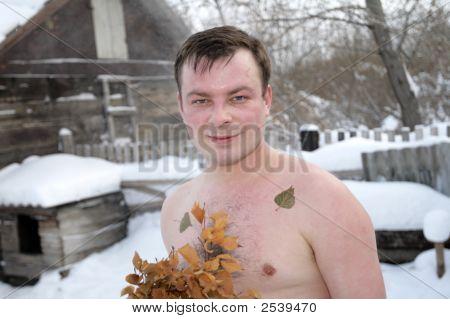 Man After Bath