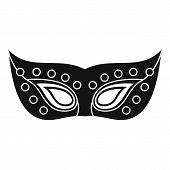 Venezia Mask Carnival Icon. Simple Illustration Of Venezia Mask Carnival Icon For Web Design Isolate poster