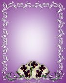 image of shabby chic  - 3D image and illustration composition for invitation card border frame or background - JPG