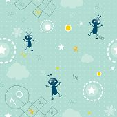 image of hopscotch  - baby wallpaper - JPG