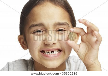 Girl With Missing Front Tooth