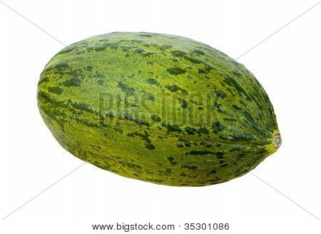 Piel De Sapo Isolated With Clipping Path