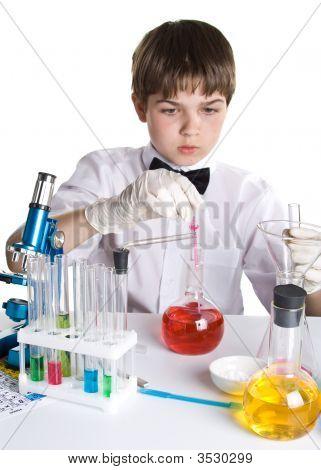 El joven científico