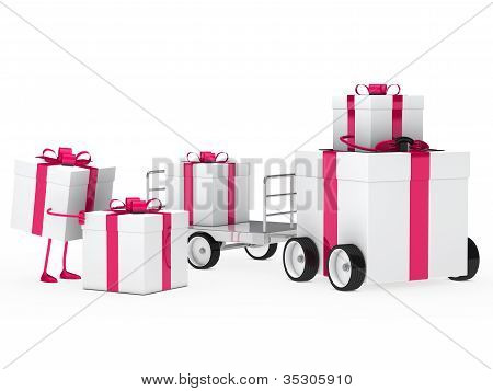 Christmas Gift Vehicle