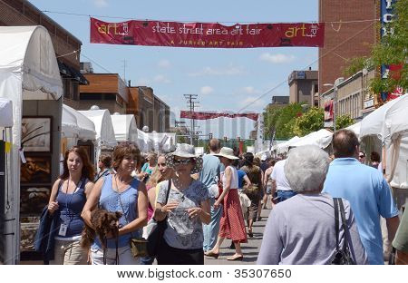 Ann Arbor State Street Area Art Fair