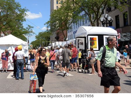 Ann Arbor Summer Art Fair
