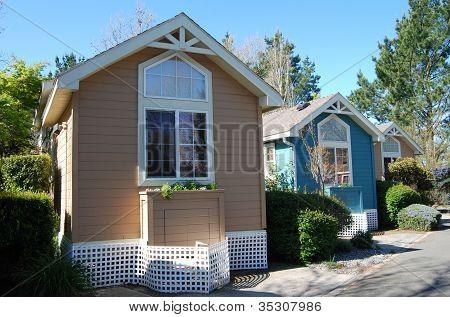 Casas pequenas, pequenas