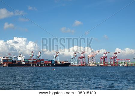 Large Container Loading Facility