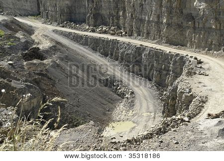 Streets In A Stone Pit