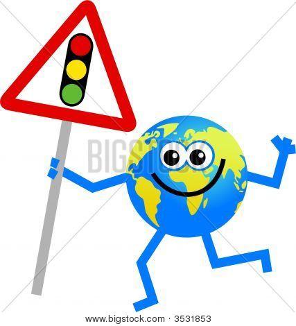 Traffic Lights Globe