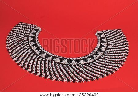 Kuna Indian Beaded Necklace