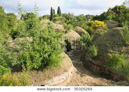 Green Etruscan Necropolis