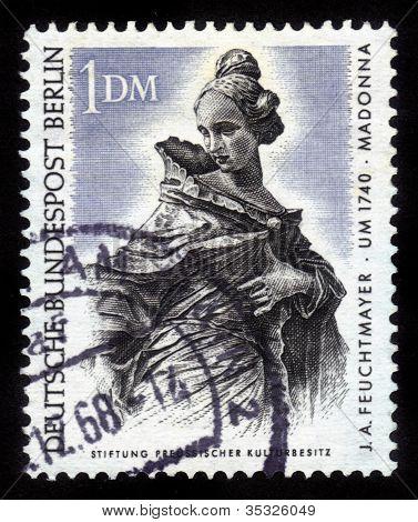 Madonna By J. A. Feuchtmayer
