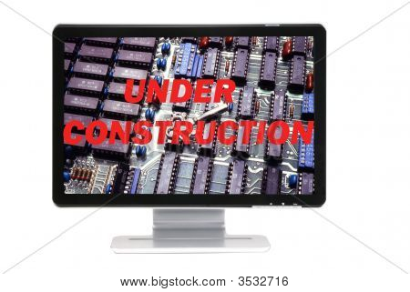 Under Construction Message-D