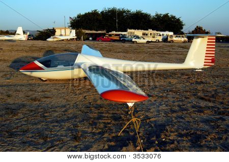 Sailplane Awaiting Flight