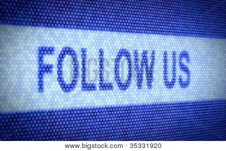 Follow Us Text