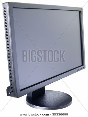 Lcd Monitor Isometric View