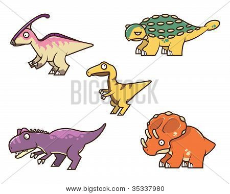Dinosaur Collection 1.eps