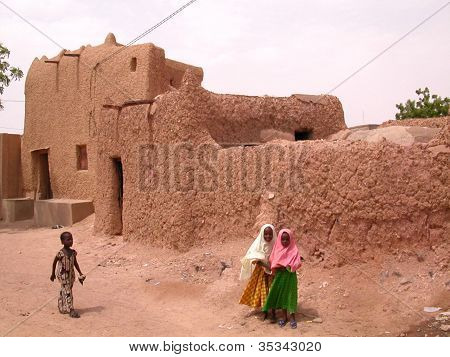 Typical house in Zinder