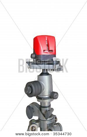 Laser Level Isolated On White