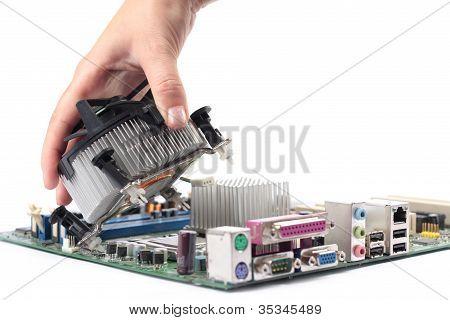 Computer mainboard hardware