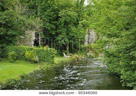 River Fergus at Mill Bridge