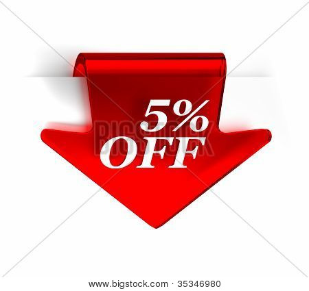 Five Percent Off