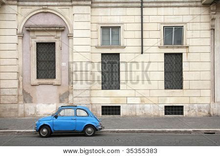 Rome Oldtimer Car