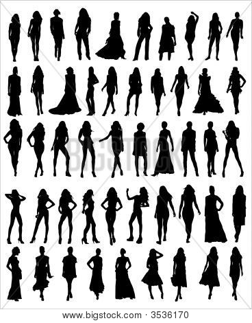 Models Vector Shapes