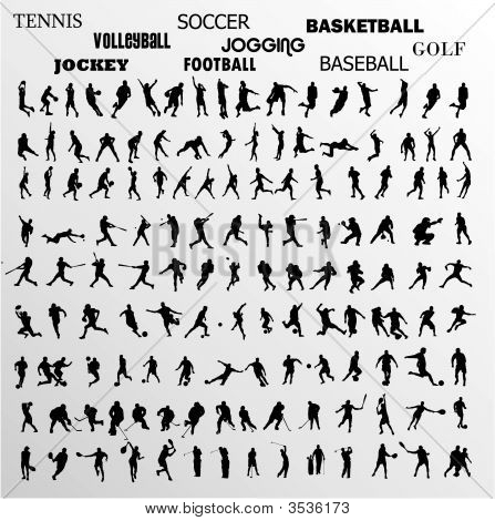 Sport Vector Shapes