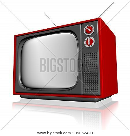old television