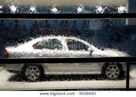 Water en auto