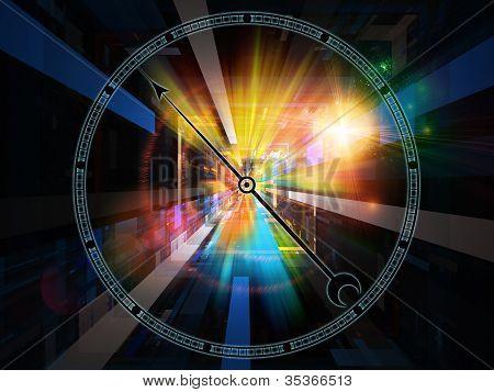 Visualization Of The Chronometer