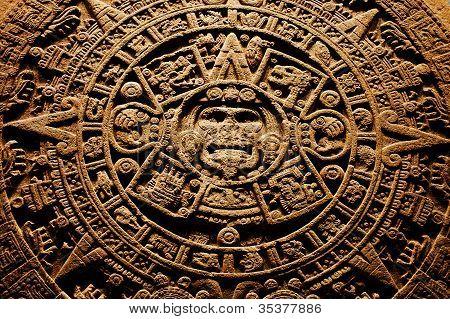 Calendario Azteca de piedra