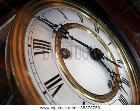 Nostalgic Clock Detail